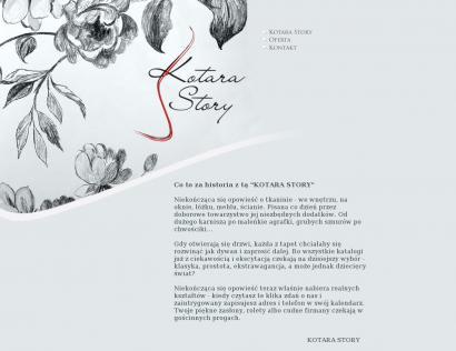 Kotara Story Firany Zasłony Tkaniny Dekoracyjne Tapety